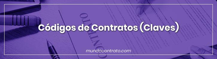 Códigos de Contratos (claves)