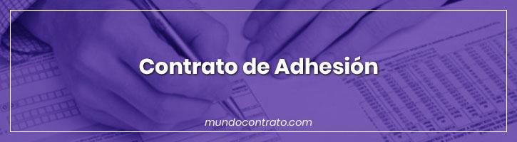 Modelo Contrato Adhesion