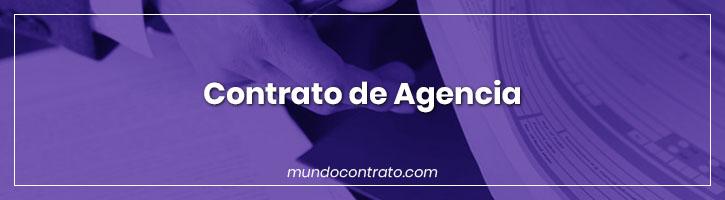 Modelo Contrato Agencia