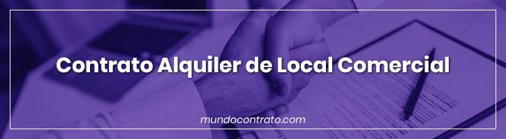 Modelo Contrato Alquiler Local Comercial
