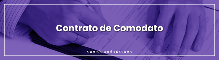 Modelo Contrato Comodato