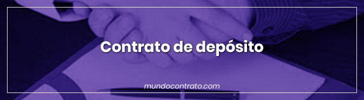Modelo Contrato Deposito