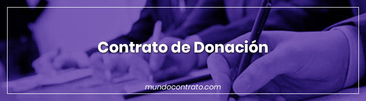 Modelo Contrato Donacion