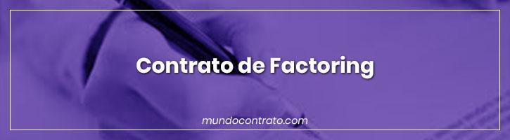 Modelo Contrato Factoring