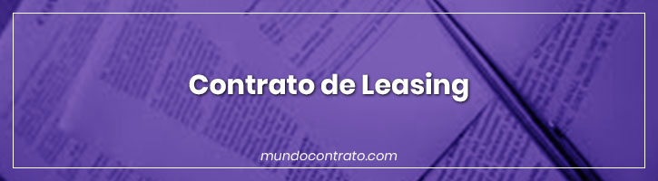 Modelo Contrato Leasing