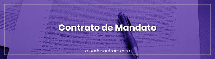 Modelo Contrato Mandato