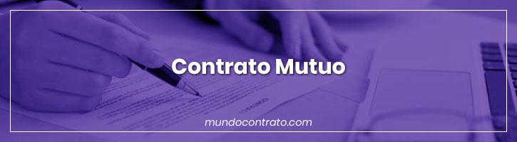 Modelo Contrato Mutuo