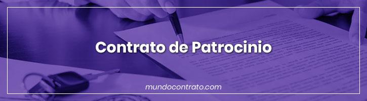 Modelo Contrato Patrocinio
