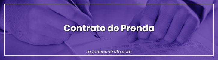 Modelo Contrato Prenda