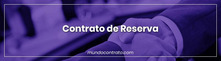 Modelo Contrato Reserva