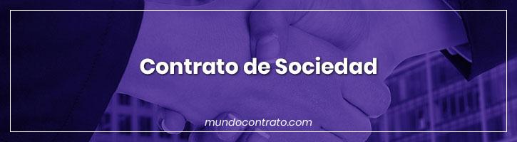 Modelo Contrato Sociedad