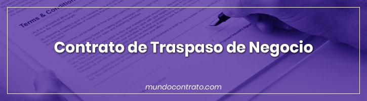 Modelo Contrato Traspaso Negocio